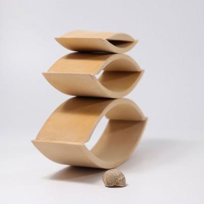 Placa de echilibru si balans Balance Board cu benzi de pluta, culoare verde