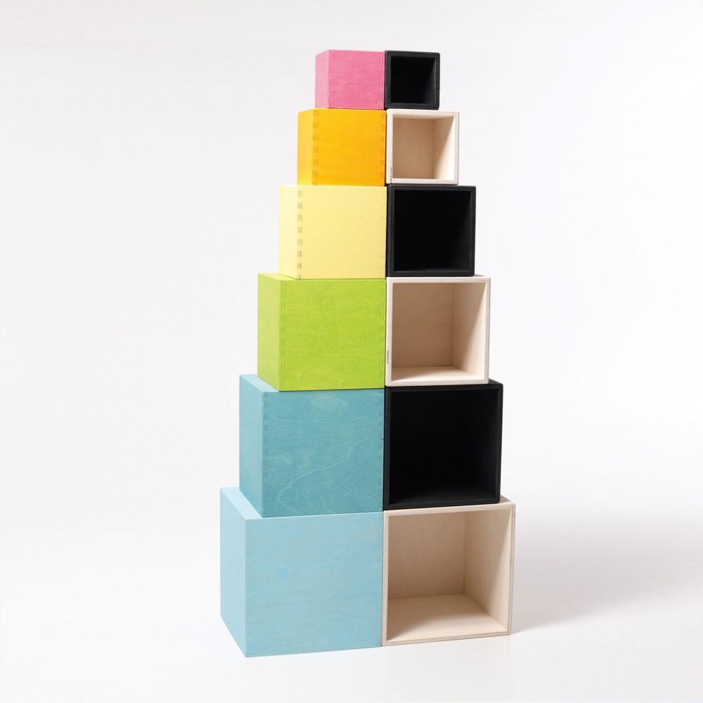 Cub decorativ pentru birou, Hexagon
