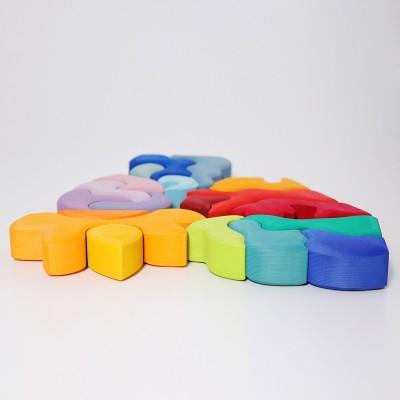 Set de cutii colorate, galben