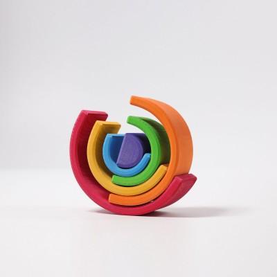 Medium Rainbow - curcubeu cu 6 piese
