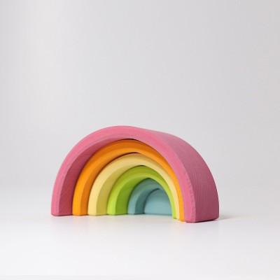 Medium Pastel Rainbow - curcubeu cu 6 piese