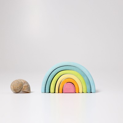 Small Pastel Rainbow - mini-curcubeu