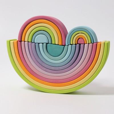 Small Pastel Rainbow - mini-curcubeu