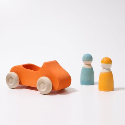 DoubleCAR galben-portocaliu