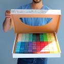 Cuburi mozaic, 100 piese