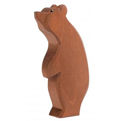 Urs mare, cu capul ridicat