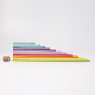 Set creativ cu placi - model pastel