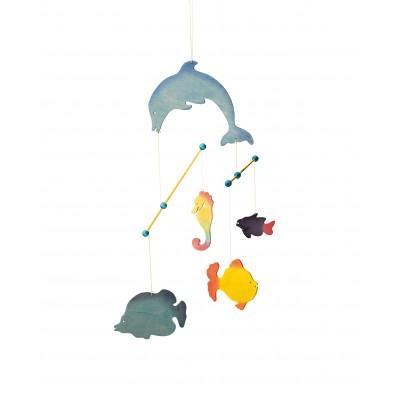 Carusel handmade Animale marine