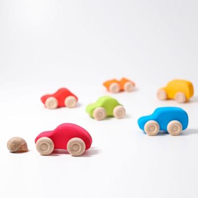 Set cu 6 masinute colorate, clasic