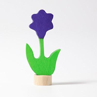 Floare mov - figurina decorativa