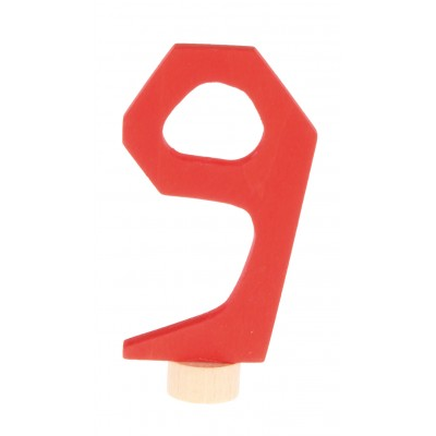 Cifra noua - figurina decorativa