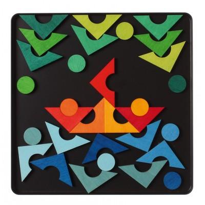 CERCURI si PATRATE - Puzzle magnetic