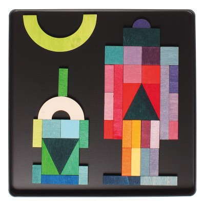 GEO-GRAPHICAL - Puzzle magnetic