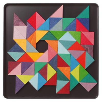 TRIUNGHIURI - Puzzle magnetic