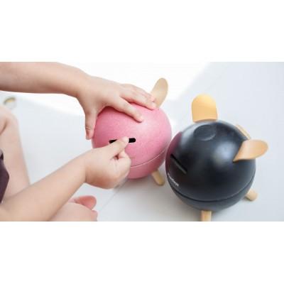 Pusculita Piggy Bank - model roz
