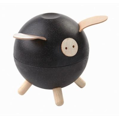 Pusculita Piggy Bank - model negru