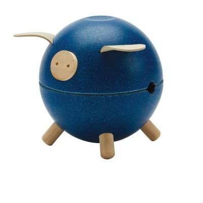 Pusculita Piggy Bank - model albastru