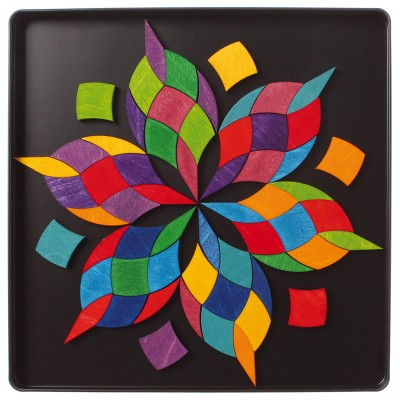 SPIRALA CULORILOR - Puzzle magnetic