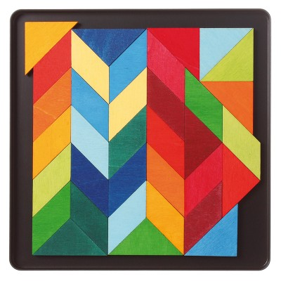 SQUARE INDIAN - Puzzle magnetic
