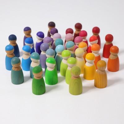 12 prieteni spiridusi, pastel