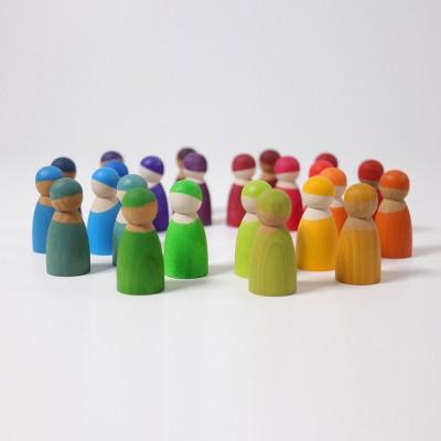 12 prieteni spiridusi, curcubeu