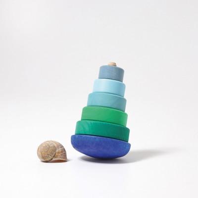 Hopa mitica albastru-verde