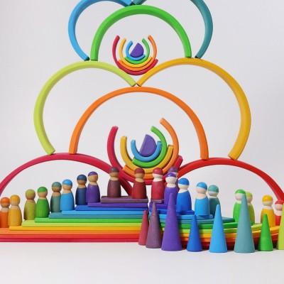 Rainbow - curcubeu cu 12 piese