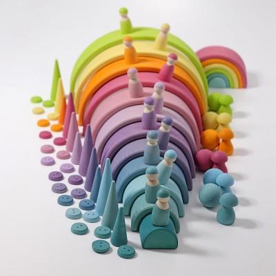 Pastel Rainbow - curcubeu cu 12 piese